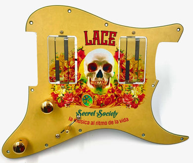 Lace® Secret Society Custom Alumitone® Loaded Pickguard