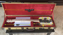 Load image into Gallery viewer, Lace Tweed Cigar Box Guitar Case