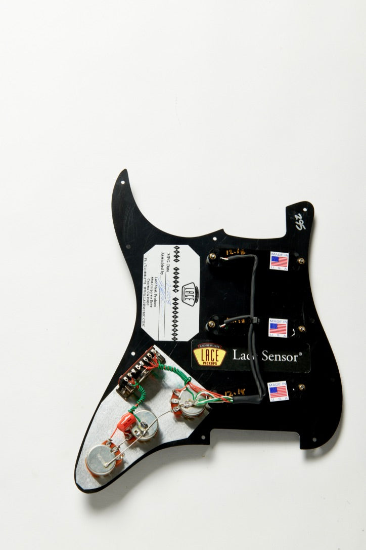 Lace Sensor Hot Gold Loaded Pickguard  U2013 Lace Music Products
