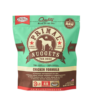 Primal Raw Frozen Canine Chicken Formula