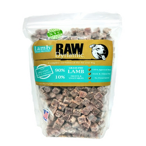 Rawy Dynamic Dog Frozen Lamb Formula for Dogs