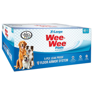 4Paws 40ct Wee Wee Pads XLg