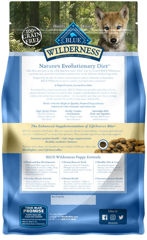Blue Buffalo Wilderness Puppy Grain Free Chicken Dry Food