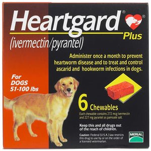 Heartgard Plus up to 51-100lbs