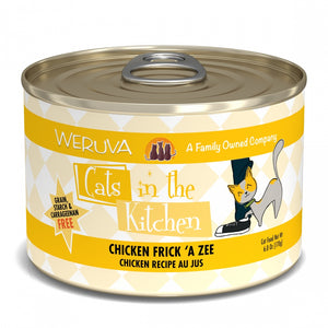 Weruva Cats in the Kitchen Chicken Frick A Zee Canned Cat Food