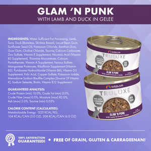 Weruva TRULUXE Glam N Punk with Lamb & Duck Canned Cat Food