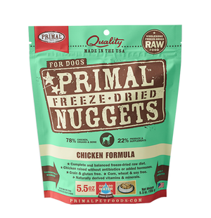 Primal Canine Freeze-Dried Chicken Formula