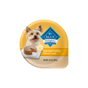 Blue Buffalo Blue Delights Small Breed Roasted Turkey Pate Dog Food Cup