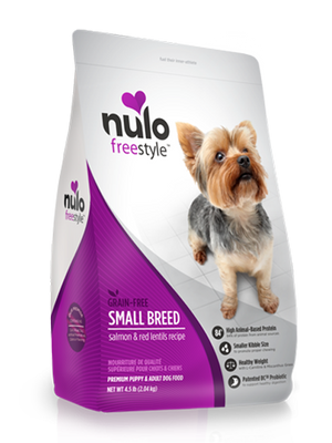 Nulo Freestyle Grain Free Small Breed Salmon and Red Lentil Dry Dog Food