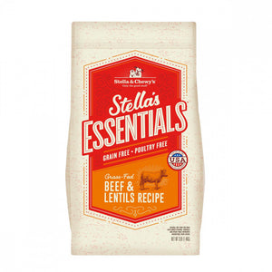 Stella & Chewy's Stella's Essentials Kibble Grass Fed Beef & Lentils Recipe Dry Dog Food