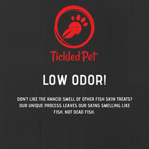 Tickeled Pet Fish Skin