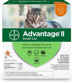 Advantage II Small Cat