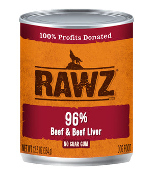 Rawz 96 Beef and Beef Liver
