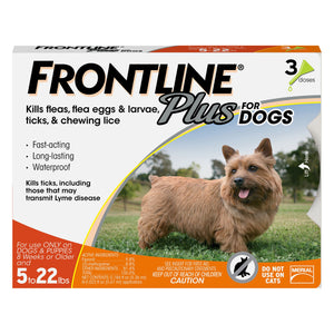 Frontline Plus for Dog 5-22lbs
