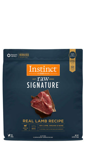 Instinct Canine Raw Signature Frozen Bites Real Lamb Recipe