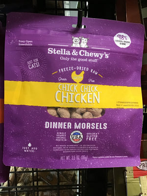 S&C C FD Chick Chick Chicken Morsels 3.5oz