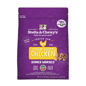 Stella and Chewy C Frozen Chicken Morsels