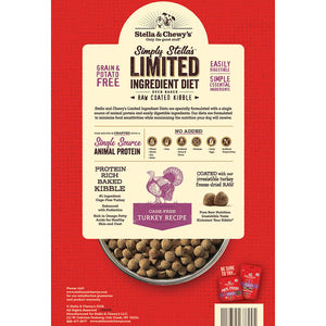 Stella & Chewy D Limited Ingredient Kibble Turkey