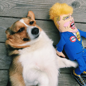 Political Parody - Donald Dog Toy Classic