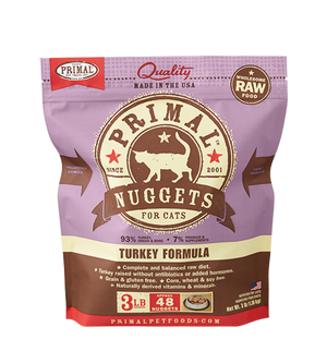 Primal Raw Frozen Feline Turkey Formula