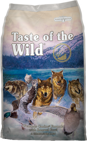 Taste of the Wild Wetlands Canine Recipe