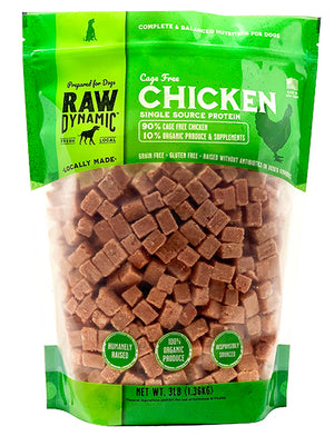 Raw Dynamic Frozen Chicken Formula for Dogs