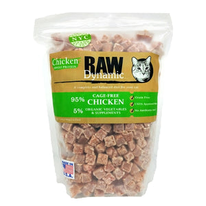 Raw Dynamic Frozen Chicken Formula for Cats