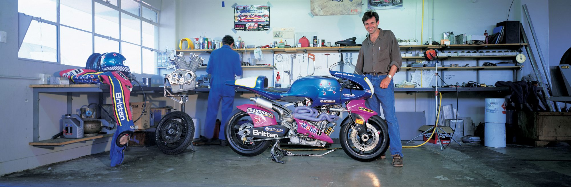 The Making of John Britten – Britten Motorcycle Company