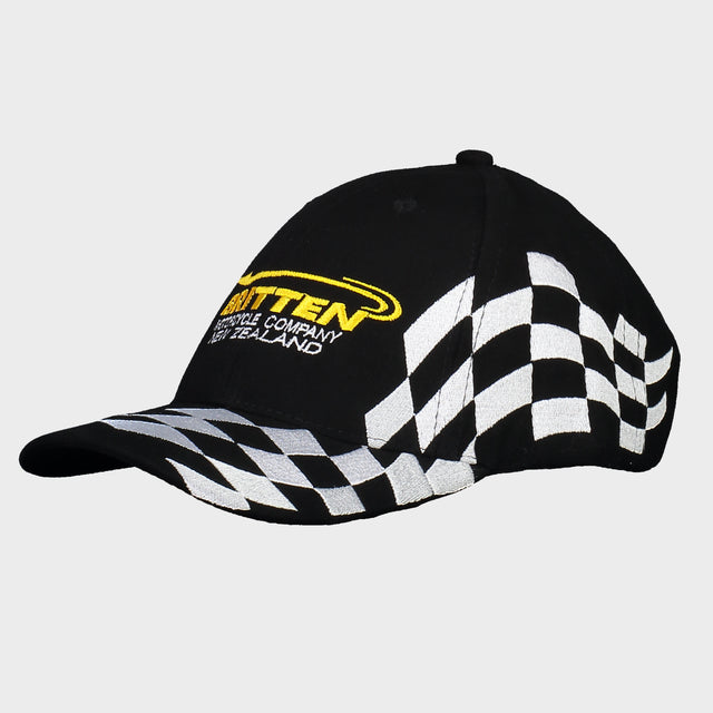 Embroidered Flag Cap - Gold/yellow