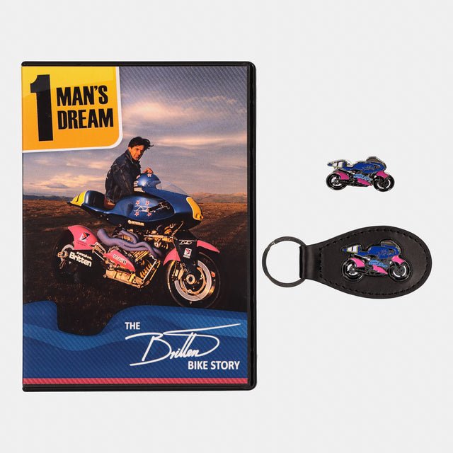 DVD, Pin & Key Ring Bundle