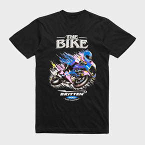 Iconic 'The Bike' T-Shirt - Black