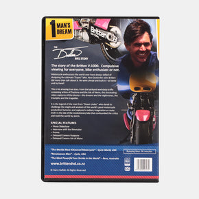1 Man's Dream - The Britten Bike Story DVD