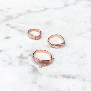 Overlapped Stacking Ring
