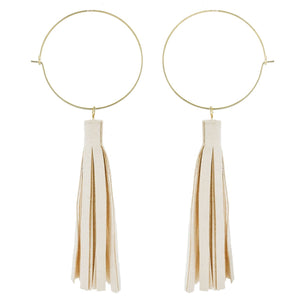 Eloise Earrings - Cream
