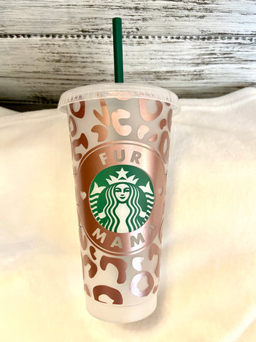 Fur Mama Starbucks Cup