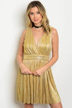 Load image into Gallery viewer, Gold Dress