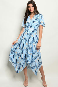 Blues Midi Dress