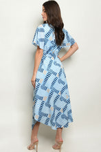 Load image into Gallery viewer, Blues Midi Dress