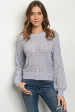 Load image into Gallery viewer, Lavender  Sweater