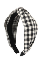 Load image into Gallery viewer, Gingham Headband
