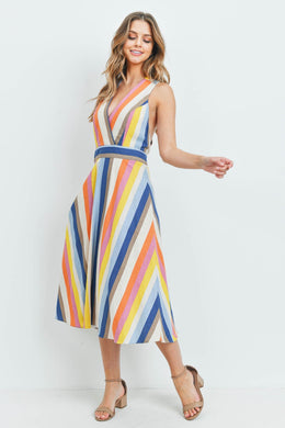 Midi Stripes Dress