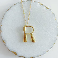Load image into Gallery viewer, Letter Lock Necklace