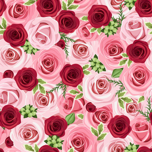 ROSE PATTERN HTV - SHVinyl