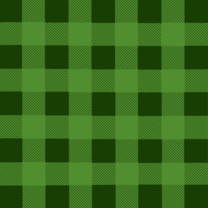 GREEN BUFFALO PLAID HTV - SHVinyl