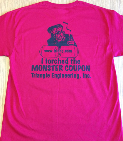 Monster Coupon t-shirt