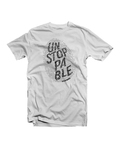 """Unstoppable"" White Tee"