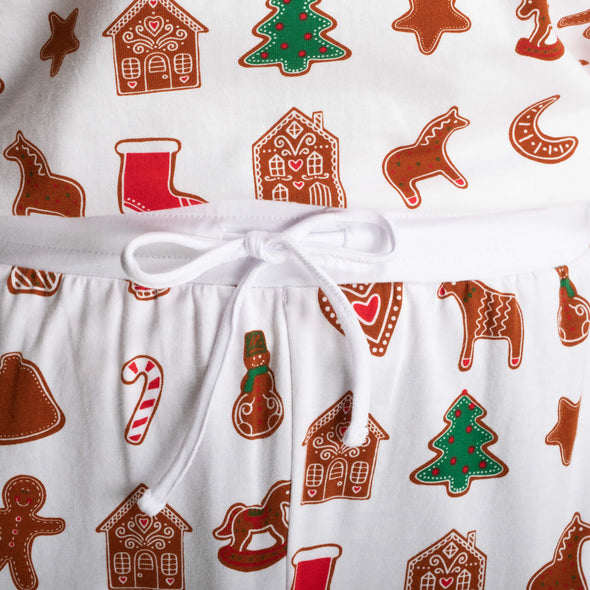 Kids Gingerbread Christmas Pyjamas (4-11 years)