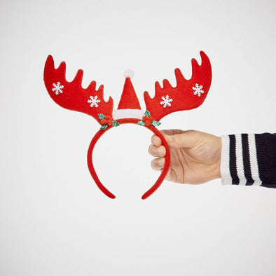 Small Reindeer Antlers Headband Accessories SillySanta