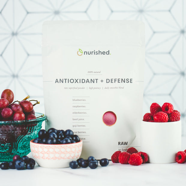 Antioxidant + Defense - Nurished Whole Food Health for Adults & Kids