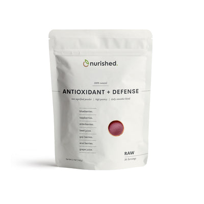 Antioxidant + Defense Raw Superfood Powder - Real Whole Food Ingredients Vegan No Artificial Anything